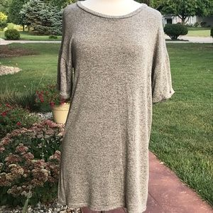 Cover Stitched long Tunic Top (M)